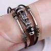 Этнический стиль орнамент смеситель ювелирные изделия многослойный многослойный браслет из натуральной кожи браслет персонализированный браслет