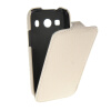 MOONCASE Carbon fiber skin Leather Bottom Flip Pouch чехол для Samsung Galaxy Ace Style LTE G357 White yandex w205 amg style carbon fiber rear spoiler for benz w205 c200 c250 c300 c350 4door 2015 2016 2017
