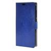 MOONCASE чехол for ZTE Blade S6 Plus S6+ Кожаный бумажник флип Чехол карты с Kickstand Case Cover синий 01