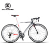 EUROBIKE 50CM Carbon Frame 700C Racing BicycleEurobike 18 Speed ​​Road Bike smileteam 2018 new carbon fiber road bike frame di2