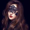 Частная сексуальная кружевная маска для глаз маска для ажурных масок альтернативные игрушки SM единообразное соблазнение сексуальное женское белье женское шоу взрослая флирт Маска для королевы подвязка ann devine кружевная голубая os