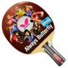 Бабочка (бабочка) 3-х звездная ракетка для настольного тенниса двухсторонняя антипластиковая настольная теннисная доска 302 одноразовая съемка ракетка для настольного тенниса torres sport 1 tt0005