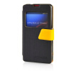 MOONCASE View Window Leather Side Flip Pouch Ultra Slim Shell Back ЧЕХОЛ ДЛЯ Sony Xperia Z1 Compact (Z1 Mini ) Black смартфон sony xperia xa1 ultra dual