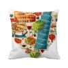 италия сердце римский театр площадь бросить подушку включить подушки покрытия дома диван декор подарок