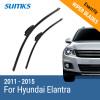 Sumks стеклоочистителей для Hyundai Elantra 26 и 13 Fit крючок оружия 2011 2012 2013 2014 2015 sumks стеклоочистителей для toyota corolla 26 и 13 fit крючок оружия 2008 2009 2010 2011 2012 2013