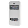 MOONCASE iPhone 5G / 5S чехол для View Slim Leather Flip Pouch Bracket Back Cover White стоимость
