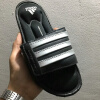 Adidas Superstar 3G Adidas Спортивные тапочки G61951 Черный Серебристый Серый Водонепроницаемый Non-Slip Пляжные тапочки 36-45 adidas x pharrell little kids superstar supercolor