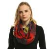 Infinity Scarf New Fashion women scarves plaid Печать Кольцо Шарфы Кольцо украдено 2018 JeouLy