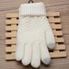 Волшебные сенсорные экраны Сенсорные перчатки для женщин Перчатки Девочки Женщины Стретч Вязаные перчатки Рукавицы Зимние теплые аксессуары Шерстяные гуаны перчатки punta сенсорные перчатки