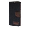 MOONCASE Cowboy tannins Leather Side Flip Wallet Card Holder Stand Pouch ЧЕХОЛ ДЛЯ Samsung Galaxy S6 Black universal car suction cup mount bracket holder stand for samsung galaxy note 3 more black