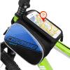 оsagie велосипедная влагонепроницаемая сумка, сумка для седла горного велосипеда, сумка переднего лонжерона, сумка для мобильника