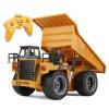 RC Truck Toys Six Channel 6CH 1/12 40HMZ Metal Dump Trucks Remote Control Toys RTR With Charging Battery Alloy Truck радиоуправляе pollutants spread around gweru dump site