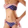 Американская модель флага купальники треугольник купальники