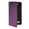 MOONCASE Slim Leather Side Flip Wallet Card Slot Pouch with Kickstand Shell Back чехол для Huawei Honor Holly Purple mooncase чехол для huawei ascend p8 wallet card slot with kickstand flip leather back white