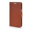 MOONCASE High quality Leather Wallet Flip Card Slot Pouch Stand Shell Back ЧЕХОЛДЛЯ LG L80 Brown mooncase high quality leather wallet flip card slot pouch stand shell back чехолдля lg g2 mini brown