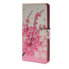 MOONCASE Plum flower style Leather Wallet Flip Card Slot Stand Pouch чехол для ASUS Zenfone 5 A501CG A06 mooncase owl style leather wallet flip card slot stand pouch чехол для asus zenfone 5 a501cg a14