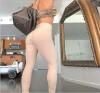 Сими Сюй Женские брюки сексуальный толчок вверх спорт спортивные леггинсы женщины работает колготки жесткие брюки трусы брюки сжат