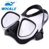 Whale Professional Adult Anti-Fog Оборудование для дайвинга Регулируемое плавание Защитные очки Маска для подводного плавания