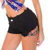 Meileiya 649 # новая летняя сексуальная ночная одежда, женские шорты с высокой талией, джинсы, сексуальные шорты с отверстиями, тощие и тонкие