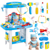 Игрушки для девочек Детские игрушки для детей Игрушки Набор инструментов для игры в доктора Набор медицинских коробок для детей Стетоскоп для игры в доктора Интерактивный стол игрушки для детей