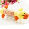 пэт щенок жевать захватывающую скрипучие плюшевой звук свинья слон утку собака звук игрушки желтой уткой