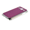 MOONCASE Luxury Chrome Plated Star Bling Back чехол для Samsung Galaxy Core Plus G3500 / Trend 3 G3502 Purple mooncase hard chrome plated star bling back чехол для huawei honor 3c white