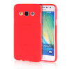 MOONCASE Transparent Soft Flexible Silicone Gel TPU Skin Shell Back ЧЕХОЛ ДЛЯ Samsung Galaxy A3 Red mooncase transparent soft flexible silicone gel tpu skin shell back чехол для samsung galaxy a3 hot pink