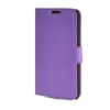 MOONCASE High quality Leather Side Flip Wallet Card Slot Pouch Stand Shell Back ЧЕХОЛ ДЛЯ Sony Xperia M2 Purple sony xperia m в спб purple