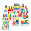 Новые деревянные игрушки для детей Монтессори Сенсорные игрушки Раннее детство Образование Дошкольное воспитание Детские игрушки 14шт Блоки Детские подарки игрушки для детей