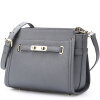 Сумки Sissi P.Sissi Европейская и американская женская сумка женская сумка женская сумка 1617 серая синяя сумка женская