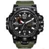 smael спортивные часы для мужчин из цифровой часы привели мужчин наручные часы montre homme большой мужчин часы, часы человек воен часы