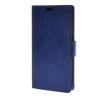 MOONCASE Smooth PU Leather Flip Wallet Card Slot Bracket Back чехол для Samsung Galaxy J5 Blue