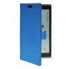 MOONCASE Slim Leather Flip Wallet Card Pouch with Kickstand Shell Back ЧЕХОЛДЛЯ Nokia Lumia 1520 Blue чехол для lumia 1520 prolife nokia