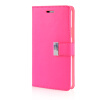 MOONCASE Leather Side Flip Wallet Card Slot Pouch Stand Shell Back ЧЕХОЛДЛЯ Samsung Galaxy Note 4 N9100 Hot pink mooncase soft silicone gel side flip pouch hard shell back чехолдля samsung galaxy s6 grey