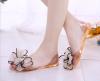 Женские сандалии сальто обувь 2018 летняя обувь для женщин женская рыба головы сандалии мода заклепки кристалл платформы женские с