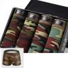 Мужские ткани для мужчин с изменяемым дизайном увеличивают шорты боксера (4 штуки) зажимы для денег sergio belotti зажим для денег