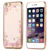 Luxury New Rhinestones Soft Silicone Plating Case For iPhone 6 6S iphone 6 6S Plus kavaro swarovski rose gold plated pc hard case for iphone 6s 6 mandala pattern