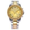 Швейцарские часы Мужчины Женщины Кристалл платье кварцевые часы Кристалл Элегантный бизнес наручные часы Лучшие Подарки GD201501