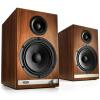 Звук двигателя (Audioengine) HD6 флагман Bluetooth полочная АС Walnut