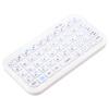 Фото мини - ультратонкий Bluetooth 3.0 беспроводной клавиатурой для IOS / Android сотовый телефон и планшет - белый сотовый телефон digma linx a177 2g