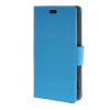 MOONCASE Simple Leather Flip Wallet Card Slot Stand Back чехол для Sony Xperia Z4 Compact ( Mini ) Blue mooncase simple leather flip wallet card slot stand back чехол для sony xperia m4 aqua blue