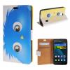 все цены на MOONCASE Huawei Ascend Y635 ЧЕХОЛДЛЯ Flip Wallet Card Slot Stand Leather Folio Pouch /a03 онлайн