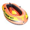 INTEX 58332 землепроходцев трио надувной лодки рыбацкой лодки шлюпка игра насос отправить весла 211 * 117 * 41см надувной матрас camping mats 127х193х24см intex