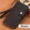 LANGSIDI Подлинная кожа флип телефон дело для Samsung S8 ретро сумасшедшие лошади кожа пряжки стиль флип-покрой телефон