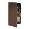 MOONCASE Slim Leather Side Flip Wallet Card Slot Pouch Stand Shell Back ЧЕХОЛДЛЯ Nokia Lumia 830 Coffee mooncase slim leather side flip wallet card slot pouch stand shell back чехолдля nokia lumia 830 white