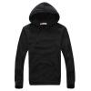 zogaa осеннего мужскую толстовку моды пуловер чистый цвет пуловер