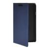 MOONCASE тонкий кожаный бумажник флип сторона держателя карты Чехол с Kickstand чехол для LG F70 синий
