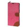 MOONCASE Alcatel One Touch POP C9 , Leather Flip Card Holder Pouch Stand Back ЧЕХОЛ ДЛЯ Alcatel One Touch POP C9 Hot pink телефон alcatel one touch 991 купить