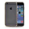 MOONCASE бампер кадр + Мягкие гибкие силиконовый гель ТПУ Оболочка задняя крышка чехол для Apple IPhone 6 Plus Золото