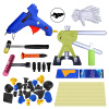 DIY PDR наборы инструментов 12 шт черный съемник вкладки вмятина ремонт инструмент удаления клей вкладки ручной наборы